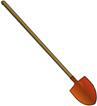 и лопата