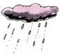 дождём