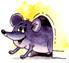 а мышка
