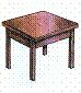 столе