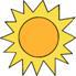 солнцем